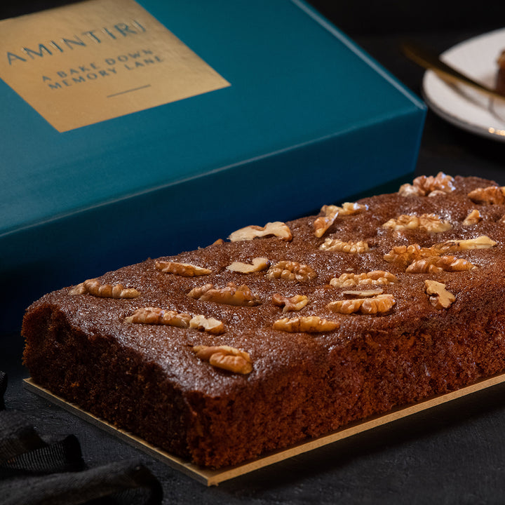 Date, Palm and Walnut Cake (Vegan) - Order Cakes Online - Amintiri Bangalore