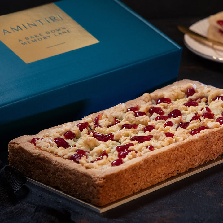 Fresh Berry Crumble Pie (Eggless and Nut-free) - Order Cakes Online - Amintiri Bangalore
