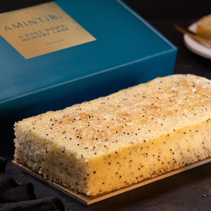 Lemon, Olive Oil and Chia Seed - Order Cakes Online - Amintiri Bangalore