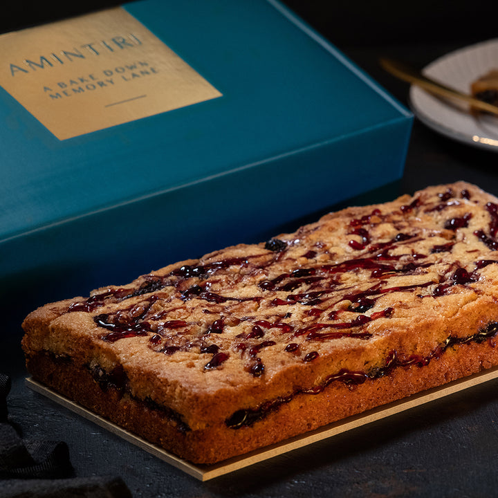 Peanut Butter and Blueberry Loaf - Order Cakes Online - Amintiri Bangalore