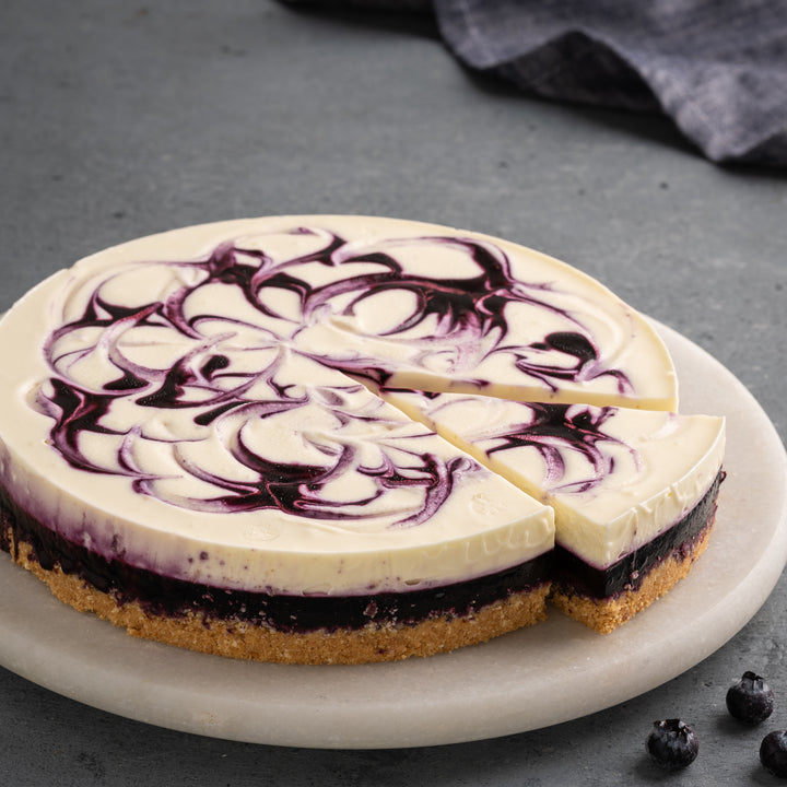 Blueberry Cheesecake (eggless) - Amintiri - Amintiri Bangalore