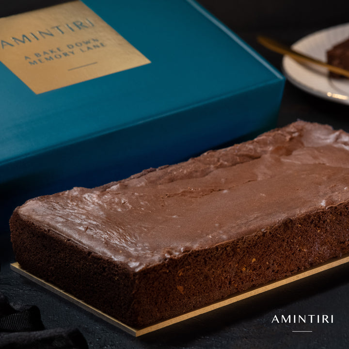 Chocolate Fudge Brownie (Eggless) - Amintiri - Amintiri Bangalore