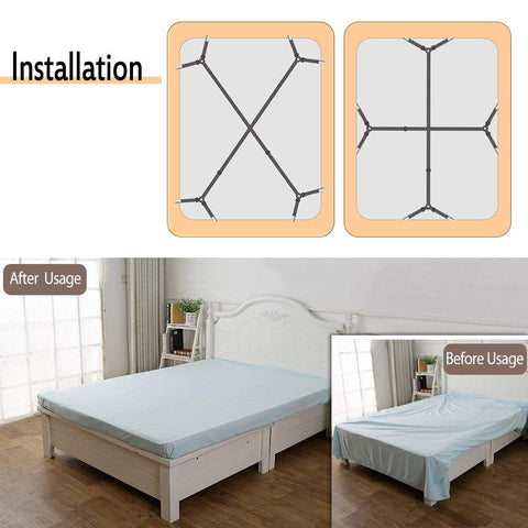 2pcs/lot 4 Adjustable Bed Sheet