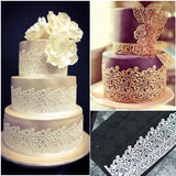 Lace Mold for Cake Decorating