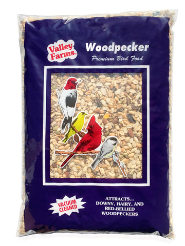 Valley Farms® Woodpecker Mix Wild Bird Food -Best Kept Secret: Attracts many wild bird species very well!