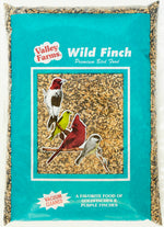 Valley Farms® Wild Finch Mix Wild Bird Food -Super Clean Seed for Outdoor Finch Feeder
