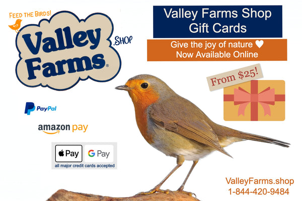 Valley Farms Gift Cards - Perfect!
