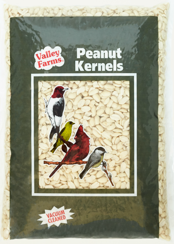 Valley Farms® Whole Peanut Kernels Wild Bird Food