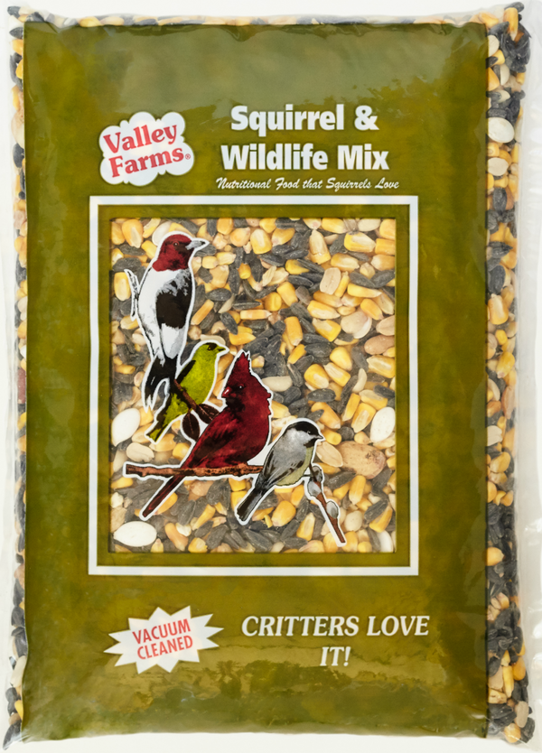 Valley Farms® Squirrel Mix Wild Bird Food