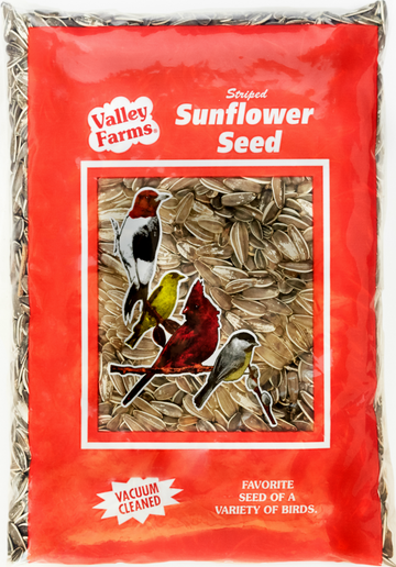 Valley Farms® Striped Sunflower Seed Wild Bird Food
