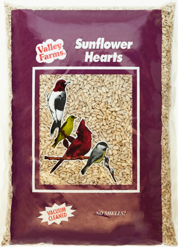 Valley Farms Sunflower Hearts Wild Bird Food