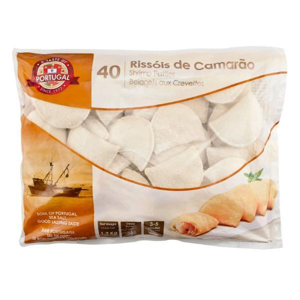 Shrimp Patties  | Rissois de Camarao | Frozen | 1.7KG