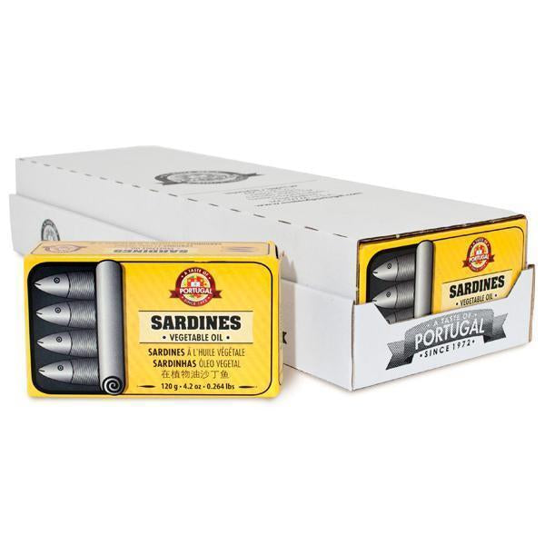 Canned Fish | Sardines in Oil 120GR | CS12