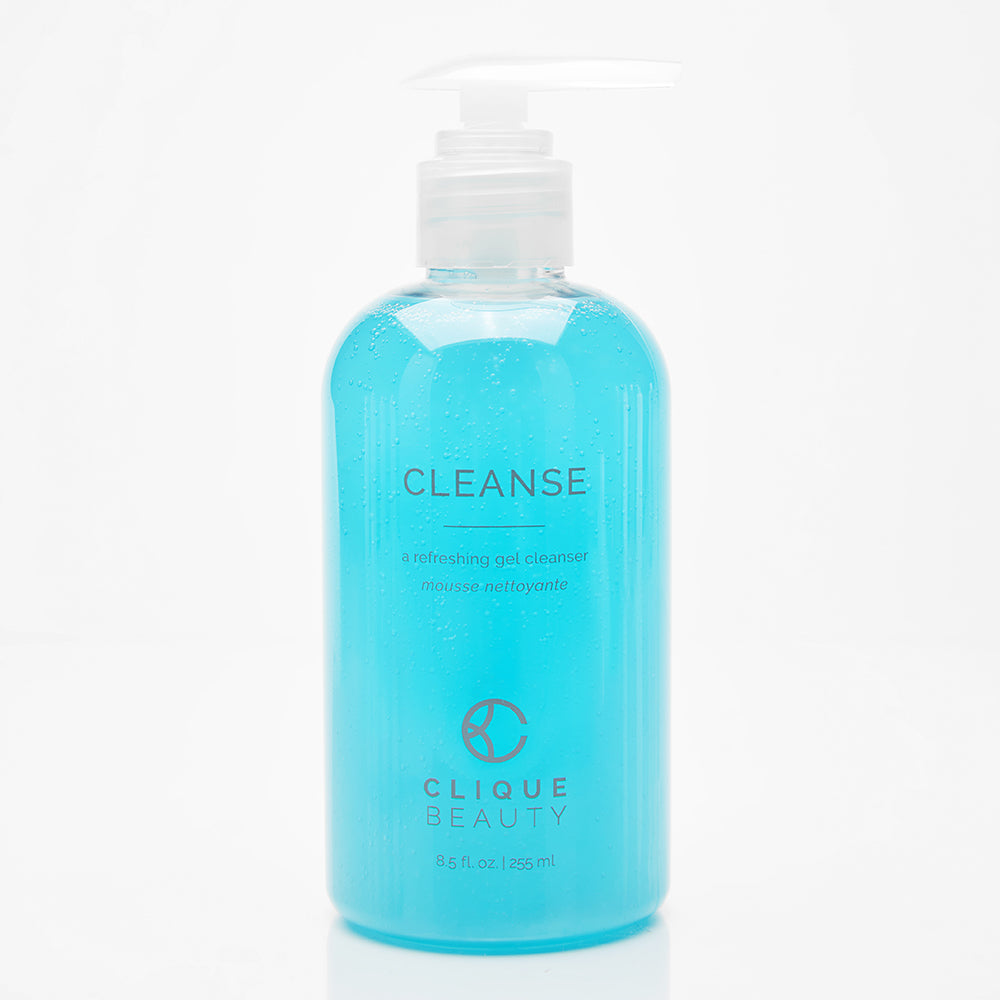 CLEANSING GEL / A foaming face wash