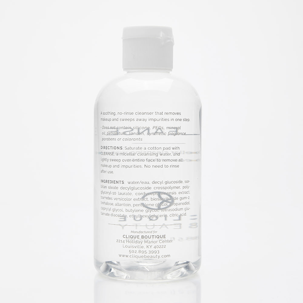 CLEANSE / A micellar cleansing water