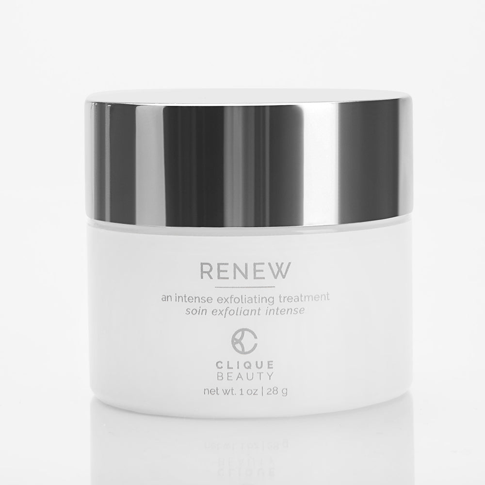 RENEW / An intense exfoliating treatment