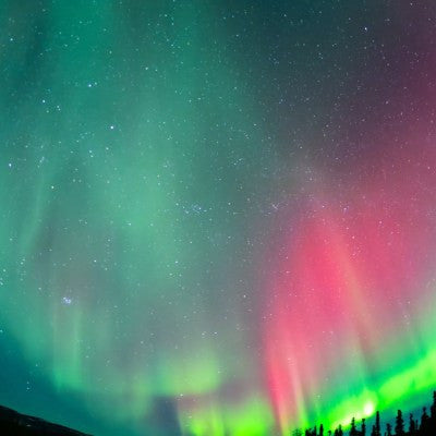 Timelapse Video: Alaska's Northern Lights