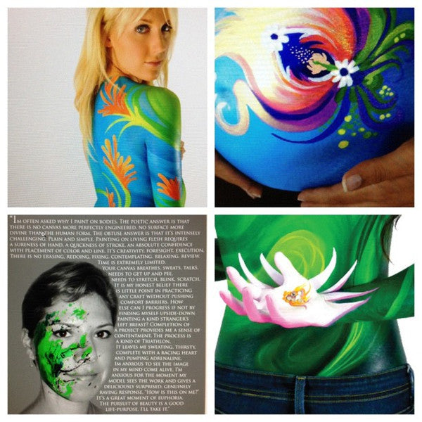 Body Painting Collage
