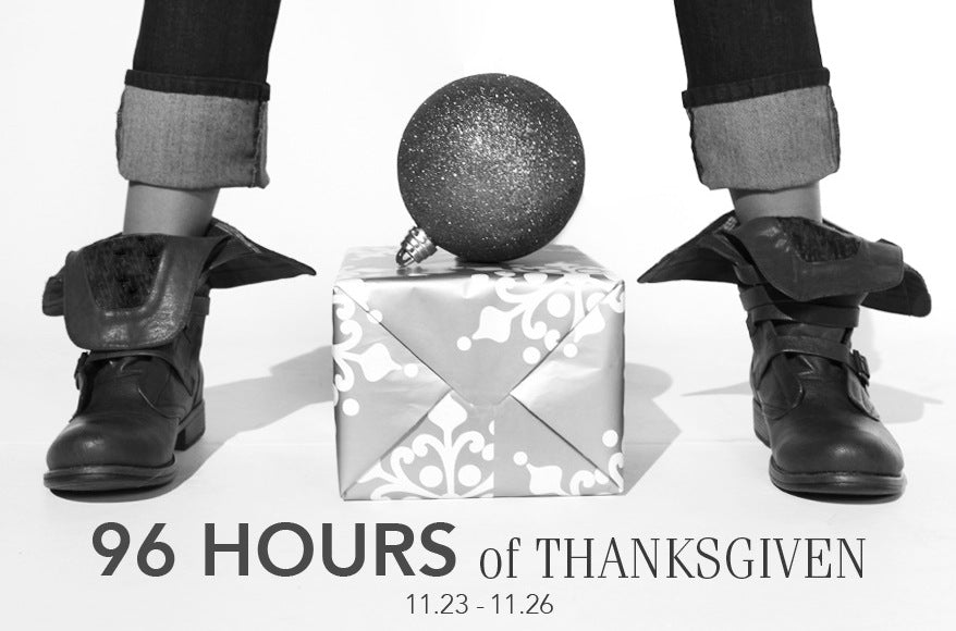 Lotus Premium Denim Given Goods Company 96 hours of Thanksgiven