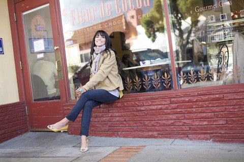 Lotus Premium Denim Inspire Rebecca Bernal Sitting