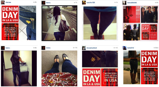 Instagram Denim Day