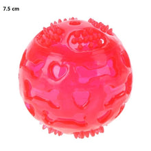 Load image into Gallery viewer, Pet Dog Chew Toy Ball Waterproof Squeak Sound Toys Bite Resistant Teeth Balls For Dogs Training Tooth Cleaning