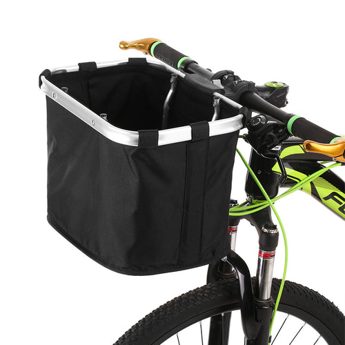 Folding Removable Bicycle Basket