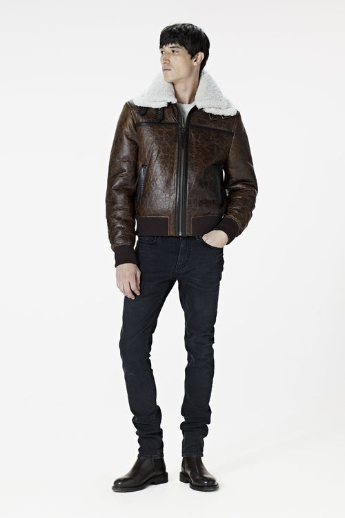 Shearling Aviator Tall