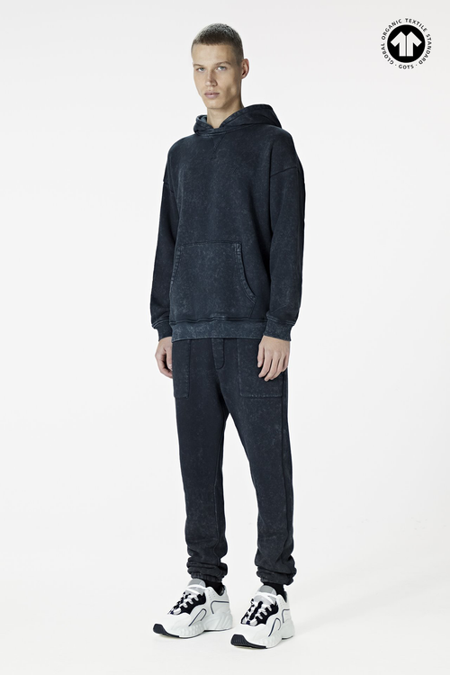 530 Washed Black Trackpant