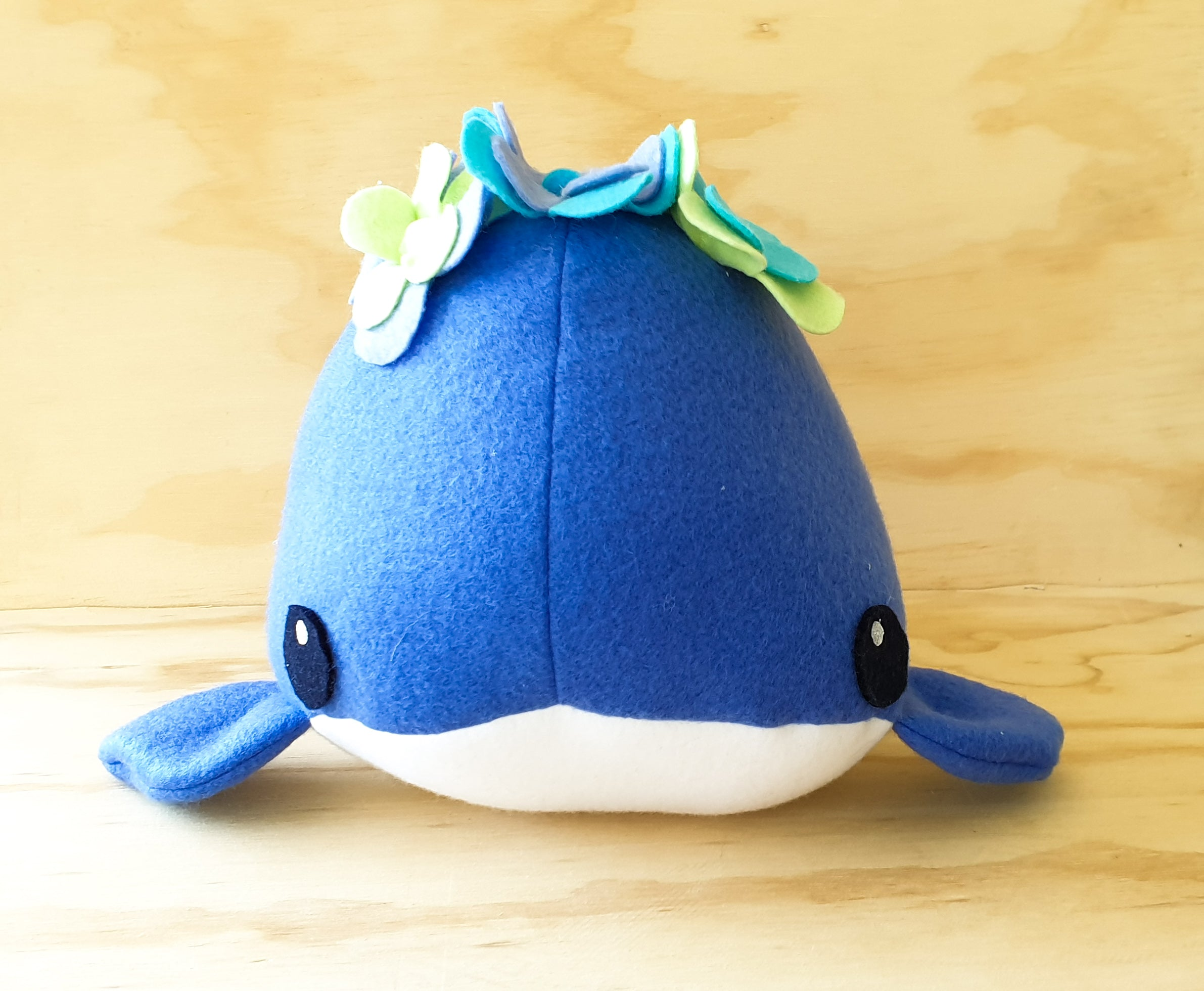 Plush whale - Soft toy