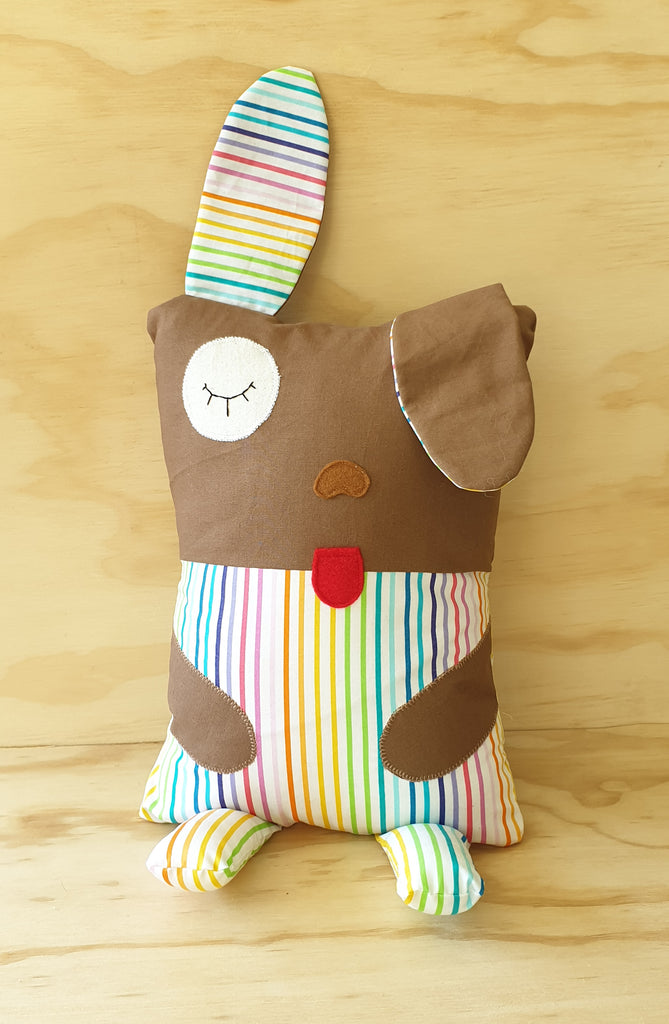 Dog Cuddle Buddy - Baby pillow / cushion - Toddler pillow / cushion - cute animal