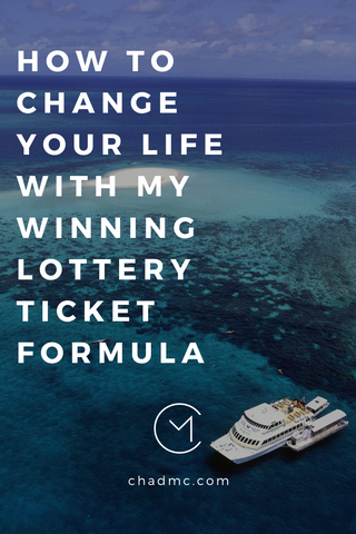 How to Change Your Life with My Winning Lottery Ticket Formula