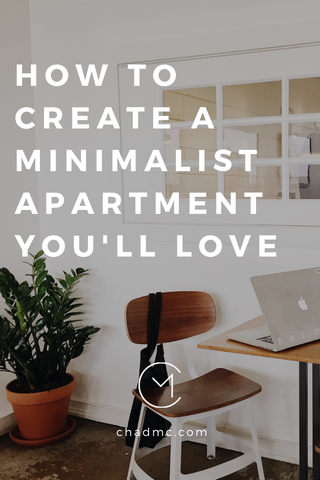 minimalist apartment design home decor