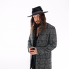 Chad McMillan Checkered Jacket Vintage Hat Hipster Mens Style Fashion