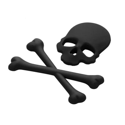 3D Jolly Roger Skull & Crossbones Decal for your Car