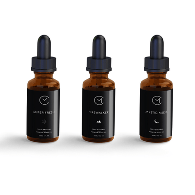 Black Magic Premium Beard Oils | My 3 Blend Set for a Better Beard