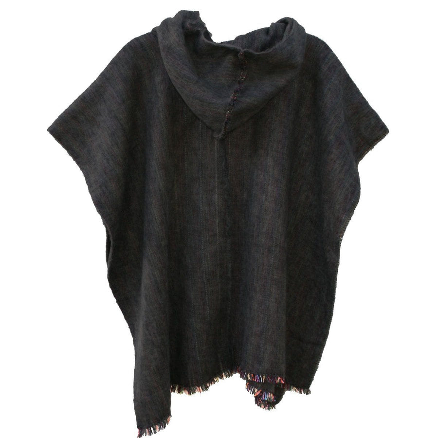 Carbon Grey Poncho