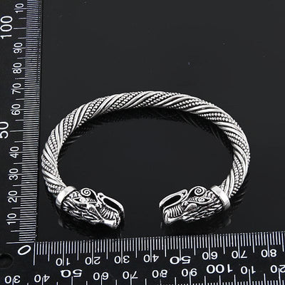 Wolf Head Viking Warrior Bracelet | Embrace Your Wild