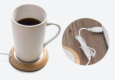 Travel-Friendly USB Coffee or Tea Warmer