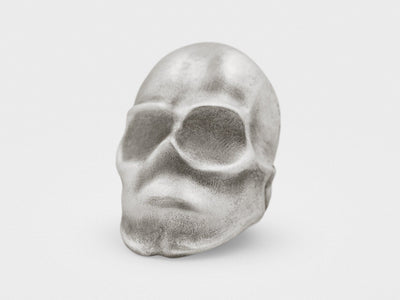 """Phantom"" Skull Ghost Ring in Sterling Silver - Chad McMillan Shop"