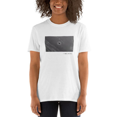 """I Believe"" Pentagon UAP UFO ""Gimbal"" Video T-Shirt 