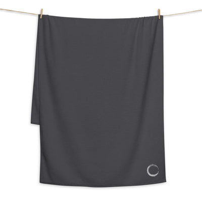 Oversized Turkish Cotton Towel | Enso Zen Circle