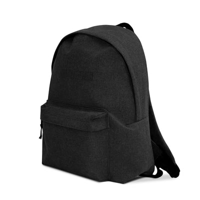 Elements of Nature Embroidered Backpack | Black