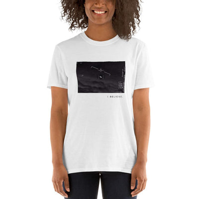 """I Believe"" Pentagon ""Gimbal Fleet"" UAP UFO Video T-Shirt 