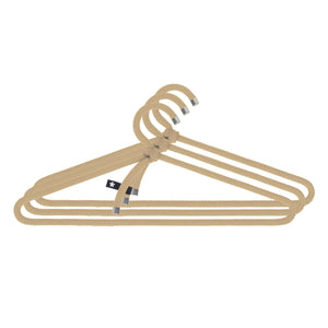 LOOP HANGER | Textil-KLEIDERBÜGEL aus Seil | 3er Set | Peppermint Products