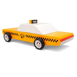 CANDYCAB | TAXI Holz-MODELLAUTO | CandyLab Toys