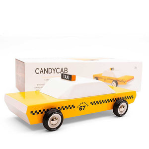 CANDYCAB | TAXI Holz-MODELLAUTO | CandyLab Toys - Charles & Marie