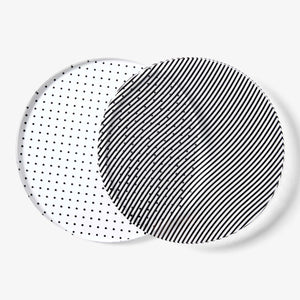 GLASS GRID COASTERS | GLASUNTERSETZER | 4er Set | Areaware