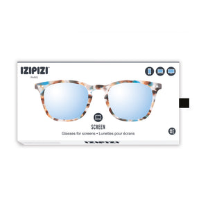 SCREEN READING | Modell #E | Blue Tortoise BILDSCHIRM-BRILLE | IZIPIZI