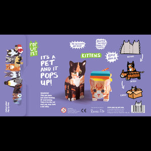 KATZENBABY | 3-dimensionale POP-UP TIERE von Pop Up Pets